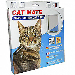 Cat Mate Cat Flap Glass Fitting (210)