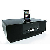 KitSound Boom Dock iPod and iPhone Speaker Dock - Black