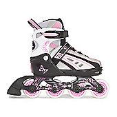 Vortex Inline Skates Pink Size 12-2