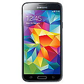 Tesco Mobile Samsung Galaxy S5 Charcoal Black