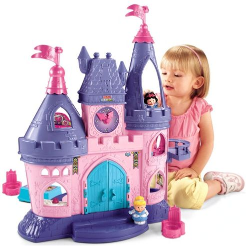Fisher-Price World of Little People Disney Princess Songs Palace