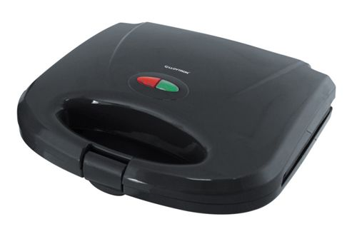Home Essence 2 Slice Sandwich Toaster in Black