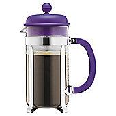 Bodum Caffettiera 8 Cup Coffee Maker, Purple