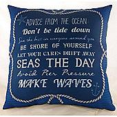 Ocean Rules Cushion