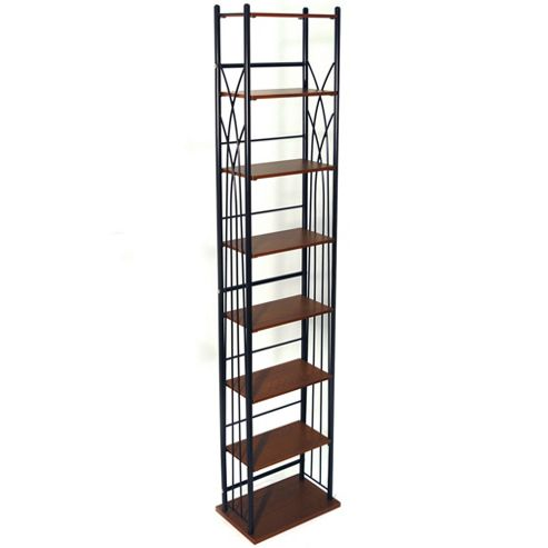 Dakota - 140 Dvd Blu-ray / 210 Cd Media Storage Tower Shelves - Black