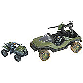 Halo Micro Ops Series 1 - Warthog & Mongoose - Action Figure