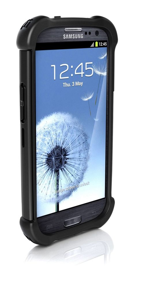 Ballistic Shell Gel Maxx Case for Samsung Galaxy S3 / III - Black