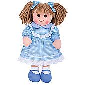 Bigjigs Toys 38cm Doll BJD023 Amelia