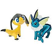 Pokemon 2 Figure Pack Helioptile vs Flareon