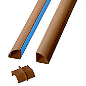 D-Line 2D222QSO/A Value Pack 1/4 Round 2x2m Lengths 9 Accessories Wood Effect