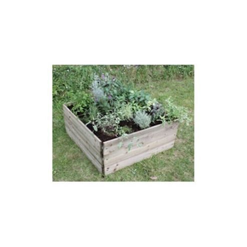 Greena Square Raised Bed (2 Tier)