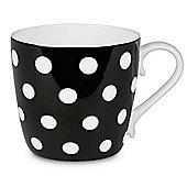 Könitz Colours Edition Polka Dots Mug in Black (Set of 4)
