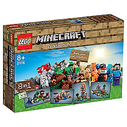 LEGO Minecraft Crafting Box 21116