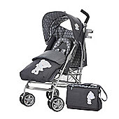 Tiny Tatty Teddy Deluxe Stroller Bundle - Denim