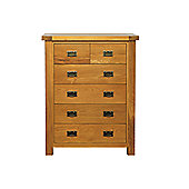 Wilkinson Furniture Corland 6 Drawer Tallboy Chest