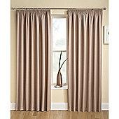 Enhanced Living Tranquility Latte Curtains 229X137cm