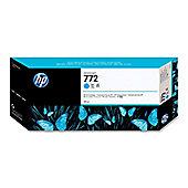HP 772 300 ml Cyan Designjet Ink Crtg