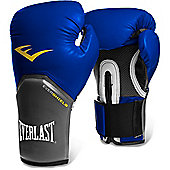 Everlast Pro Style Elite Training Boxing Gloves - Blue