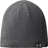 Under Armour Mens Basic Beanie Winter Hat - Grey