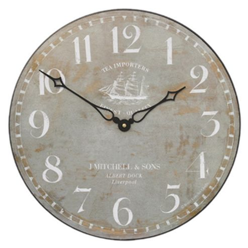 buy roger lascelles clocks ship motif wall clock from our. Black Bedroom Furniture Sets. Home Design Ideas
