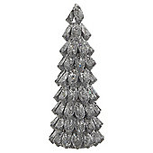 Silver Glitter Tree Home Decoration