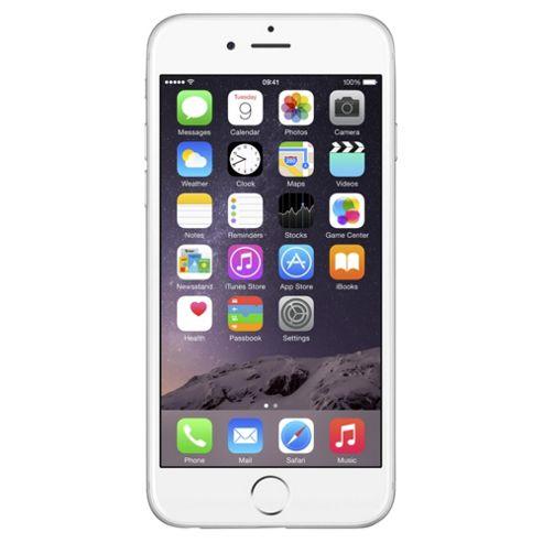 Tesco Mobile iPhone 6 16GB Silver