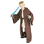 Rubies UK Deluxe Hooded Heavy Jedi Robe- S