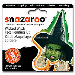 Amscan - Snazaroo Wicked Witch Face Paint Kit - 10 Faces