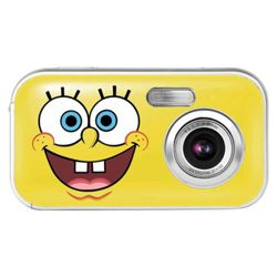Spongebob 2.1MP Smiley Face Digital Camera