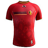 2014-15 Belgium Home World Cup Football Shirt (Kids) - Red