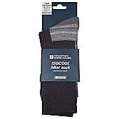 IsoCool Hiker Walking Hiking Socks - Grey