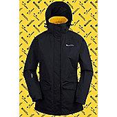 Mountain Warehouse Dogs Trust Womens Waterproof Jacket - Yellow