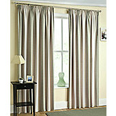 Twilight Ready Made Blackout Pencil Pleat Curtains Navy, Green, Red & Natural - Green