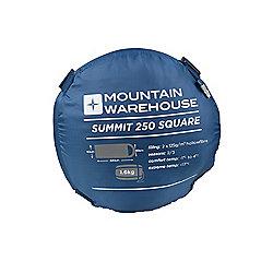 Unisex Autumn Summit 250 Hollowfibre Square Zipped Sleeping Bag