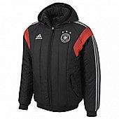 2014-15 Germany Adidas Padded Jacket (Black) - Black
