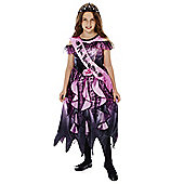 F&F Halloween Prom Queen Dress-Up Costume - Lilac & Black