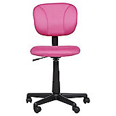 Henry Office Chair, Pink