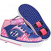 Heelys Cruz Pink/Blue Heely Shoe - Pink