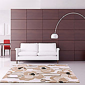 Ultimate Rug Co Floral Art Burgeon Rug - 120 cm x 170 cm (3 ft 11 in x 5 ft 7 in)