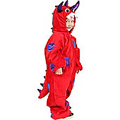 Child Red Monster Costume