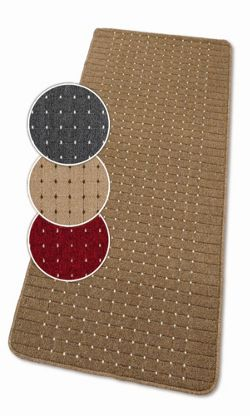 Dandy Stanford Red / Cream Contemporary Rug - 50cm x 80cm