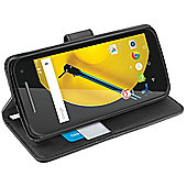 Orzly Multifunctional Wallet Case for Motorola Moto E (2nd Gen) 2015 - Black