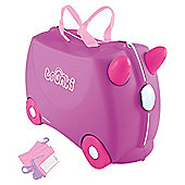 Trunki Ride-On Purple Suitcase