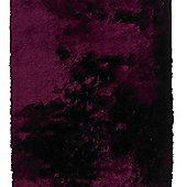 Oriental Carpets & Rugs Sable Purple Tufted Rug - 150cm L x 90cm W