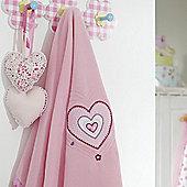 bed-e-byes Purfect Pink Fleece Blanket