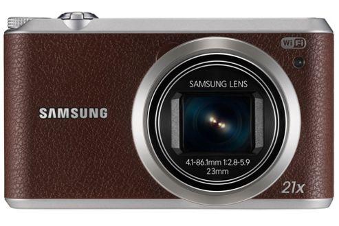 Samsung WB350F Smart Camera Brown 16.3MP 21xZoom 3.0LCD FHD 23mm MicroSD WiFi