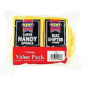 Kent V998 Sponges Value Pack X3