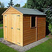 FINEWOOD WARWICK 8 x 6 Shiplap Double Door Shed