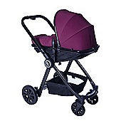Red Kite Push Me Fusion Travel System (Plum)