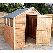 6ft x 6ft Overlap Apex Shed